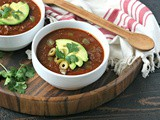 Instant Pot Beef Heart Chili