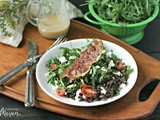Lentil Salad with Feta and Crispy Prosciutto