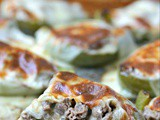 Philly Cheesesteak Stuffed Peppers (Keto)