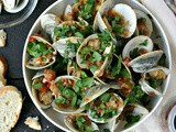 Steamed Clams Recipe (Spicy)