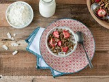 Strawberry Coconut Granola (Grain Free, Nut Free, Vegan)
