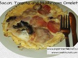 Bacon, Tomato and Mushroom Omelette