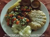 Beef Pie with Yorkshire Pudding