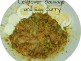 Leftover Sausage and Egg Curry