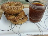 Simit - Turkish Sesame Ring  | Enjoy your cuppa