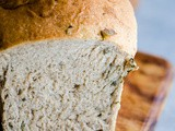 Basil and Parmesan Spelt Bread