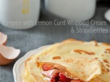 January Recipe Swap: Crepes with Lemon Curd Whipped Cream