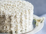 Pineapple Coconut Birthday Cake