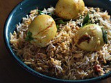 Anda Biryani Recipe, How to make Hyderabadi Egg Biryani