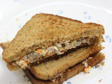 Chicken Mayo Sandwich Recipe, How to make chicken sandwich