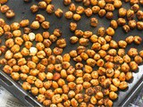 Crispy, Healthy Roasted Chickpeas Recipe, Spicy Roasted Chickpeas
