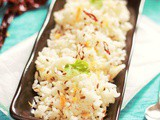 Jeera Rice Recipe, how to make jeera pulao, indian cumin rice