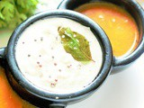 Nariyal ki Chatni, Hotel Style Coconut Chutney, South Indian