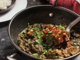 Palak Gosht recipe, Spinach Mutton curry