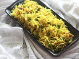 Peas Pulao Recipe, How to make Matar Pulao (Step By Step & Video)