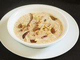 Sheer Khurma Recipe, Hyderabadi Sheer khurma