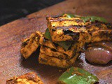 Tandoori Paneer Tikka Recipe, How to make tandoori paneer tikka