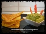 Tortillas Chips y Guacamole