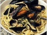 Fish is the Dish: Scottish Mussels with Linguine, Garlic and Dill