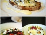 Food on bbc Three Counties Radio and a Mushroom and Thyme Cream Bruschetta Recipe