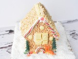 Make a Christmas Rice Krispie House