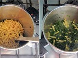 "Pressure Cooking: Pasta with Spinach ""Pesto"" (Casarecce ai Spinaci) by Laura Pazzaglia"