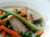 Quick Chicken Soup with Seasonal Vegetables