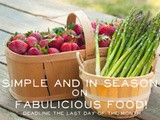 Simple and in Season April Round Up