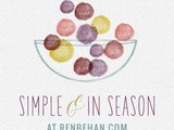 Simple and in Season June – Now Open