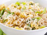 Egg Fried Rice Preparation(quick n easy way)