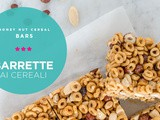 Barrette ai cereali • Honey nut cereal bars