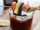Bloody Maria with Lime Chile Salt
