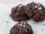 Double Chocolate Chunk Sea Salt Cookies
