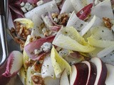 Endive Salad with Stilton, Pear and Walnuts