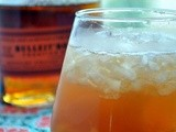 Fresh Peach Old Fashioned