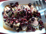 Grilled Pork Tenderloin with Spicy Fresh Cherry Salsa