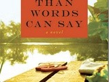 """More Than Words Can Say"" a Book Giveaway"