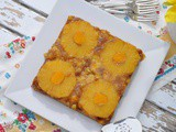 Pineapple & Champagne Mango Upside Down Cake