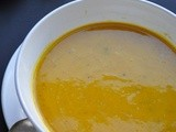 Roasted Pumpkin, Gala Apple & Garam Masala Soup