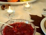 Spiced Cranberry Sauce with Apple & Orange