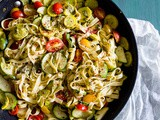 Summer Vegetable Pesto Pasta
