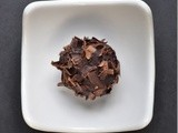 Triple Chocolate Mosto Cotto Truffles - a Guest Post