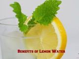 8 Ways Your Body Benefits from Lemon Water