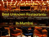 Good but lesser known restaurants in Mumbai