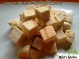 Home made Paneer(Indian Cheese)