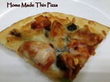 Home made Thin Pizza