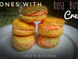 Scones with Rose Buttercream