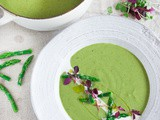 Creamy Asparagus Soup with Fennel and Tarragon