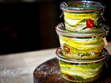 Jill's Pickled Patty Pans