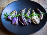 Moroccan Pickled Eggplant